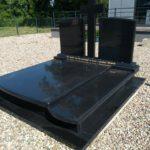 luksusowy nagrobek grobowiec szwed podwójny czarny