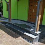 zdjęcie podjazdu dla wózków granit Paddang Dark