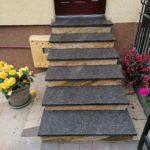 zdjęcie schody brąz Tan Brown płomieniowany żółty Imperial Gold