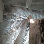 na zdjęciu schody zabiegowe granitowe szare Viscont White