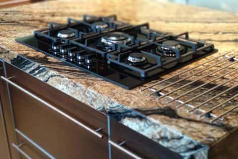 Blat kuchenny z granitu Juparana Tropical