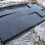 sarkofag premium black monolit jedna bryła 25cm x 100cm x 200cm