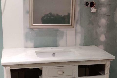 blaty marmurowe styl rustykalny